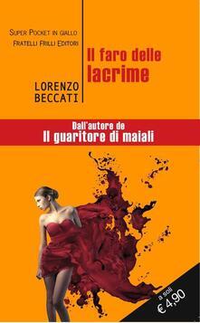 Il faro delle lacrime - Lorenzo Beccati - copertina