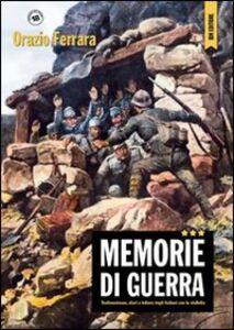 Memorie di guerra