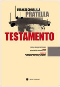 Testamento - Pratella Francesco B. - wuz.it