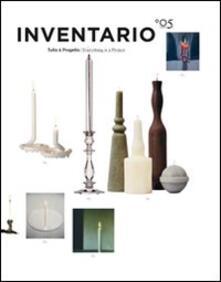 Warholgenova.it Inventario. Tutto è progetto-Everything is a project. Ediz. bilingue. Vol. 5 Image