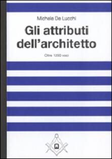 Aboutschuster.de Gli attributi dell'architetto Image