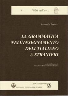 Osteriacasadimare.it La grammatica nell'insegnamento dell'italiano a stranieri Image