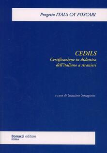 Cedils. Certificazione in didattica dell'italiano a stranieri - copertina