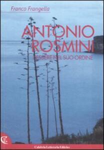 Antonio Rosmini. L'essere nel suo ordine