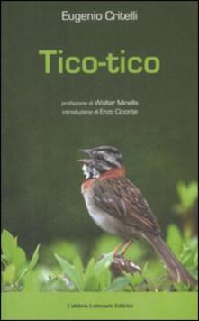 Tico-tico - Eugenio Critelli - copertina