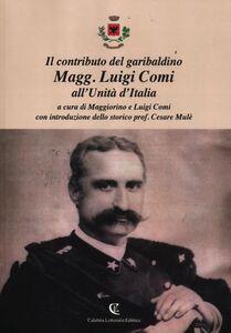 Libro Il contributo del garibaldino Magg. Luigi Comi all'Unità d'Italia