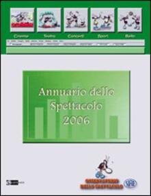 Ipabsantonioabatetrino.it Annuario delo spettacolo 2006. Osservatorio dello spettacolo Image