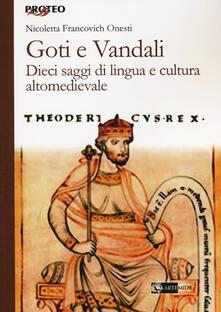 Premioquesti.it Goti e Vandali. Dieci saggi di lingua e cultura altomedievale Image