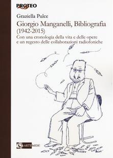 Warholgenova.it Giorgio Manganelli, bibliografia (1942-2015) Image