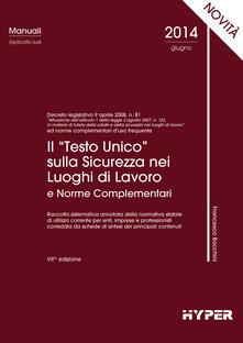 Il «Testo Unico» sicurezza e norme complementari.pdf