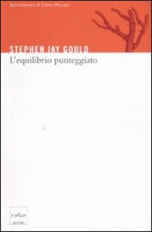 L' equilibrio punteggiato - Stephen Jay Gould - copertina
