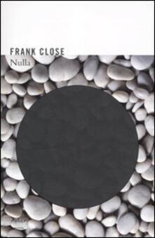 Nulla - Frank Close - copertina