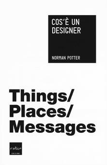 Cos'è un designer - Norman Potter - copertina