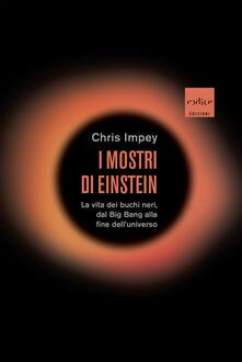 I mostri di Einstein. La vita dei buchi neri, dal Big Bang alla fine dell'universo - Corrado Ghinamo,Chris Impey - ebook