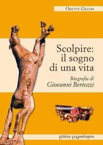 Scolpire. Il sogno di una vita. Biografia di Giovanni Bertozzi