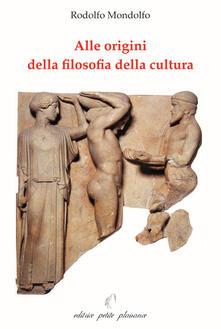 Premioquesti.it Alle origini della filosofia della cultura Image