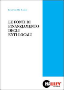 Le fonti di finanziamento degli enti locali
