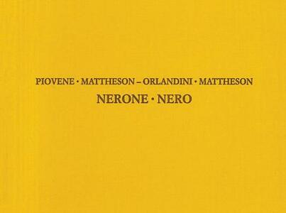 Nerone. Ediz. italiana e inglese - Giuseppe Maria Orlandini - copertina