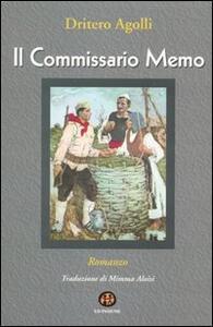 Il commissario Memo - Dritëro Agolli - copertina