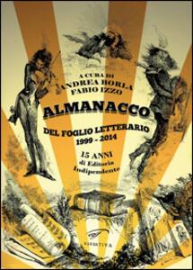 Almanacco del Foglio Letterario 1999-2014. 15 anni di editoria indipendente - copertina