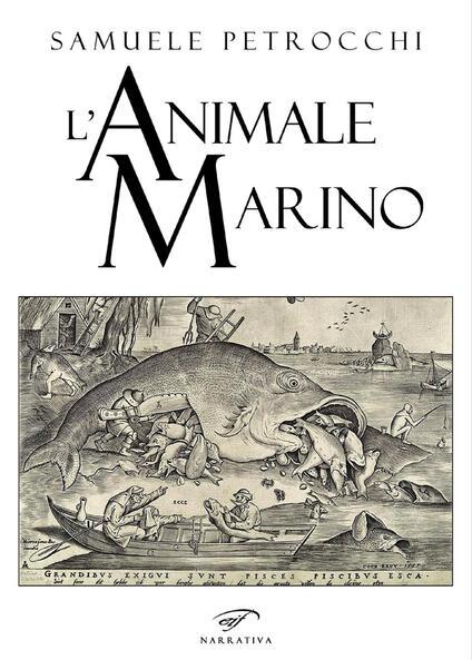 L'animale marino - Samuele Petrocchi - copertina
