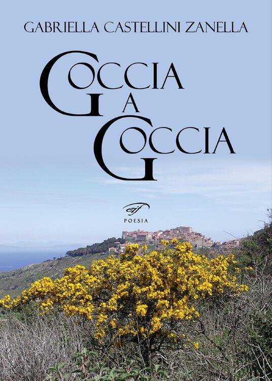 Goccia a goccia - Gabriella Castellini Zanella - copertina
