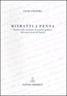 Lpgcsostenible.es Ritratti a penna. Studio sulle scritture di uomini politici della provincia di Napoli Image