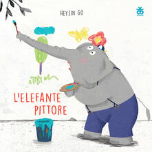 Charun.it L' elefante pittore. Ediz. illustrata Image