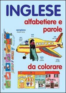 Camfeed.it Inglese. Alfabetiere e parole da colorare. Ediz. illustrata Image