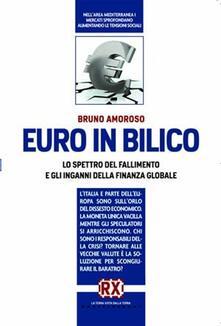 Euro in bilico. Lo spettro del fallimento e gli inganni della finanza globale - Bruno Amoroso - copertina