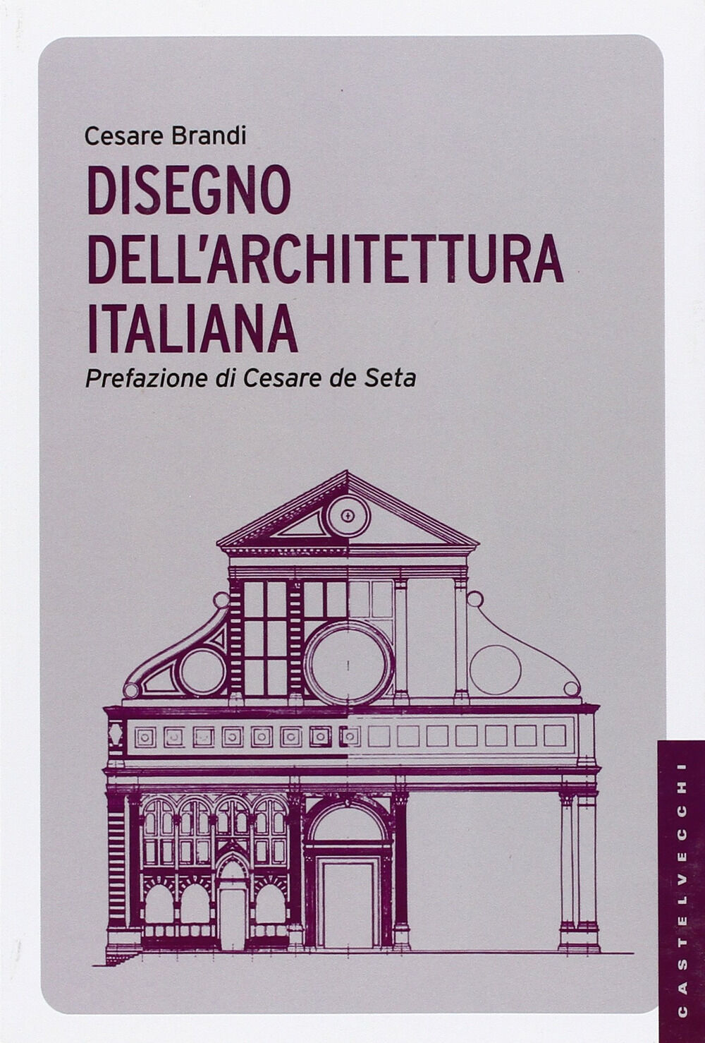 Disegno dell'architettura italiana. Ediz. illustrata