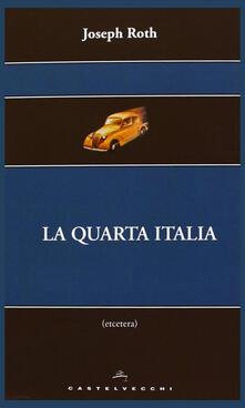 La quarta Italia - Joseph Roth - copertina