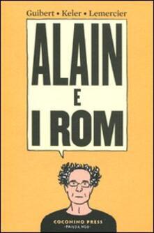 Alain e i rom - Emmanuel Guibert,Alain Keler,Frédéric Lemercier - copertina