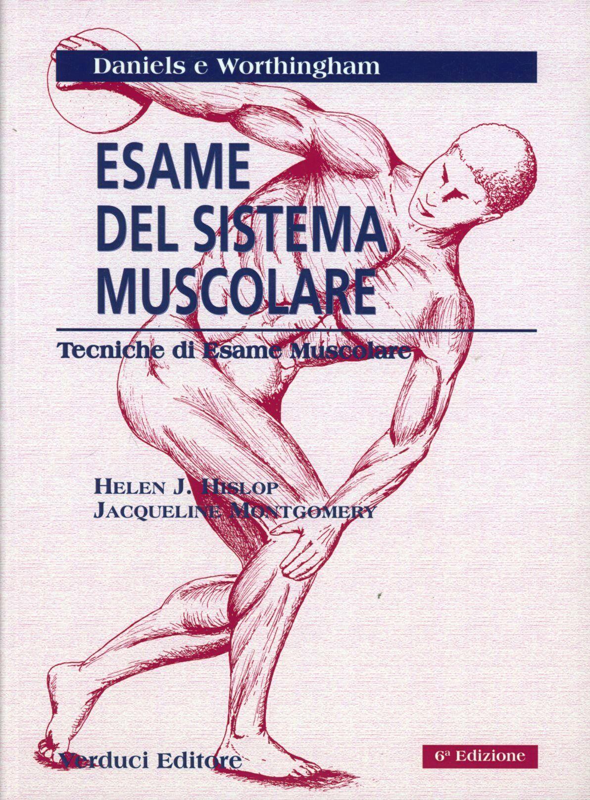Esame del sistema muscolare. Tecniche di esame muscolare