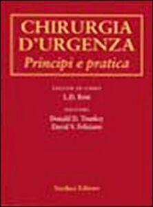 Chirurgia d'urgenza. Principi e pratica