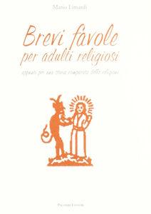 Brevi favole per adulti religiosi