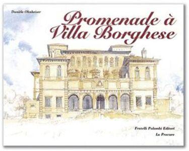 Promenade à villa Borghese