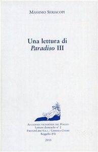 Una lettura di Paradiso III
