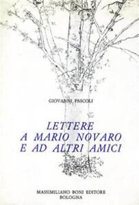 Lettere a Mario Novaro ed altri amici