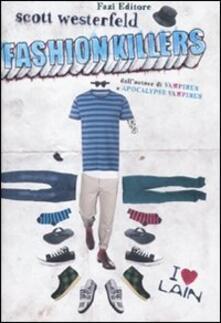 Fashion killers - Scott Westerfeld - copertina