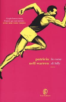 La corsa di Billy - Patricia Nell Warren - copertina