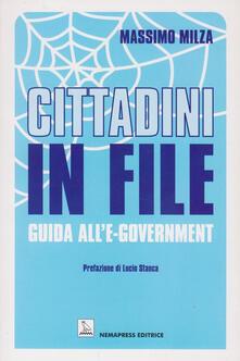 Ristorantezintonio.it Cittadini in file. Guida all'e-government Image