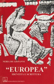 Camfeed.it Europea. Identità e scrittura Image