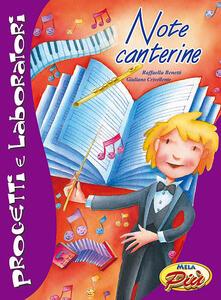 Note canterine. Con CD