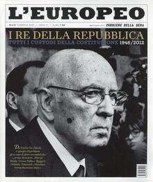 Voluntariadobaleares2014.es L' europeo (2012). Vol. 1: I Re della Repubblica. Image
