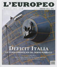 L' europeo (2013). Vol. 5: Deficit Italia.