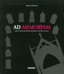 Voluntariadobaleares2014.es Ad memoriam. Storia e storie del cimitero del borgo di Sant'Orso in Aosta Image
