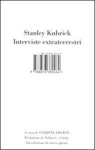 Stanley Kubrick. Interviste extraterrestri - copertina