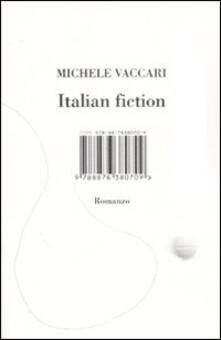 Italian fiction - Michele Vaccari - copertina