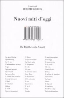 Nuovi miti d'oggi. Da Barthes alla Smart - copertina